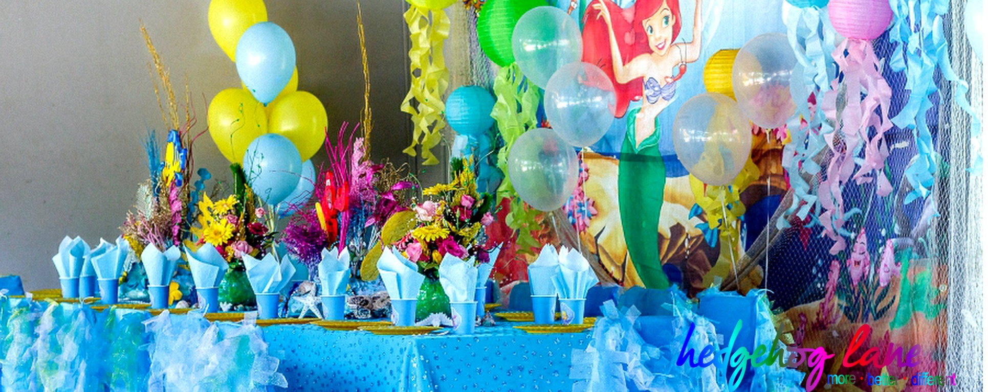 Ariel Kids Themed Party Decor