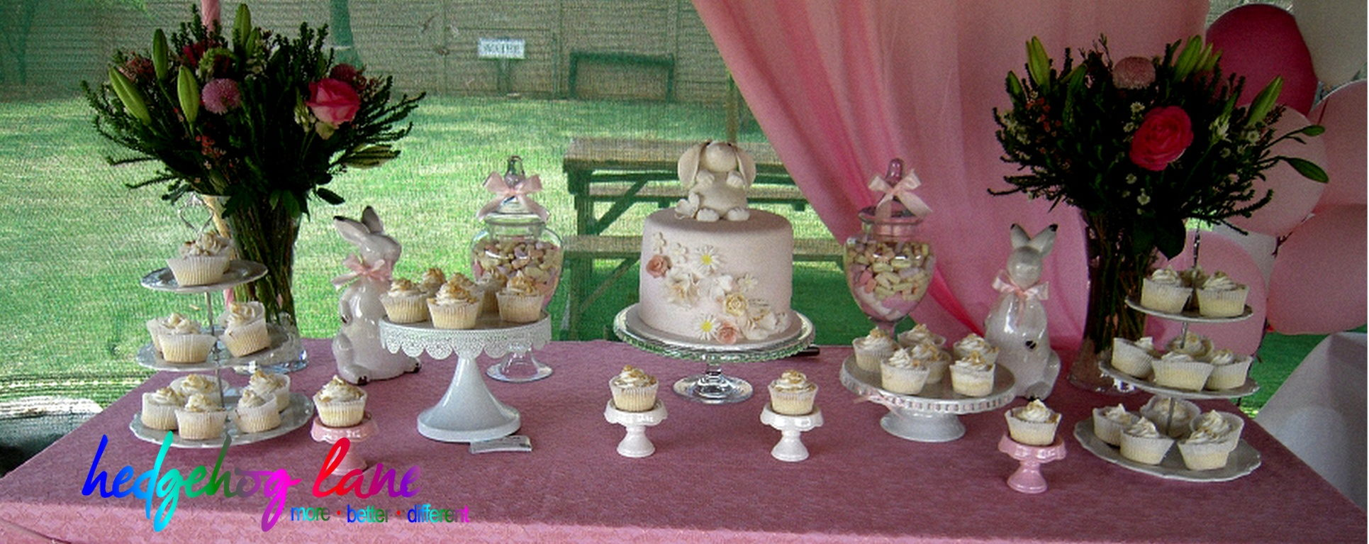 Bunny Themed Baby Shower