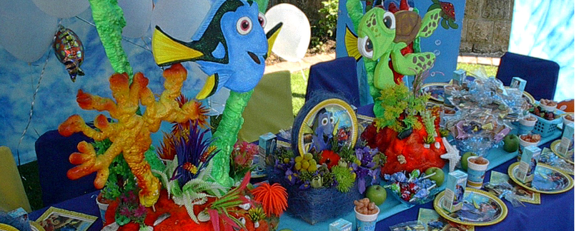 Finding Dory Kids Themed Party Decor