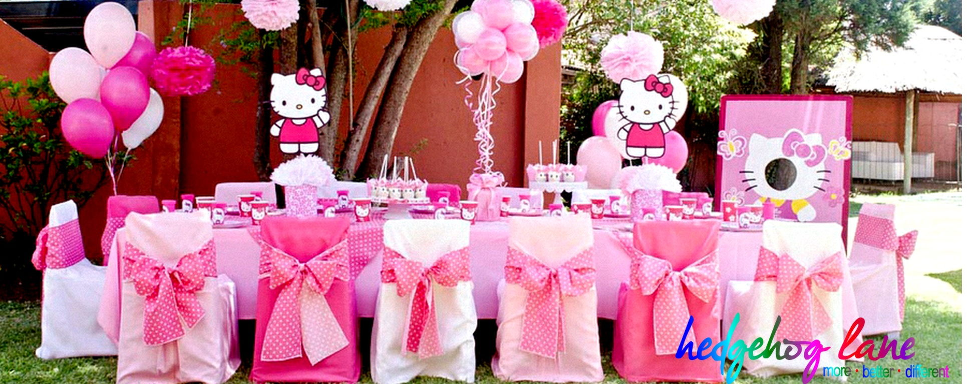 Hello Kitty Themed Kids Party Decor