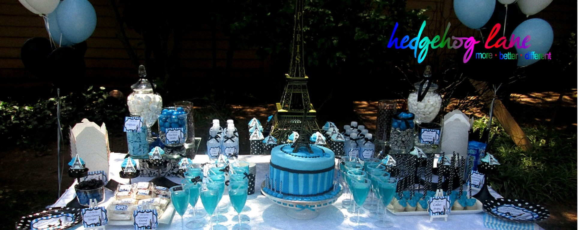 Paris Sweet Table