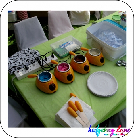 Chocolate Craft Activity for a Kids Party