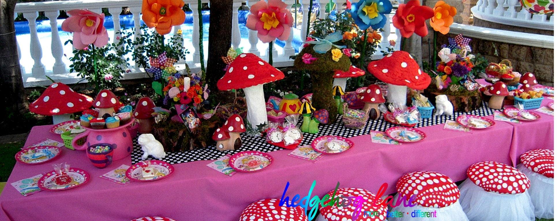Wonderland Garden Decor