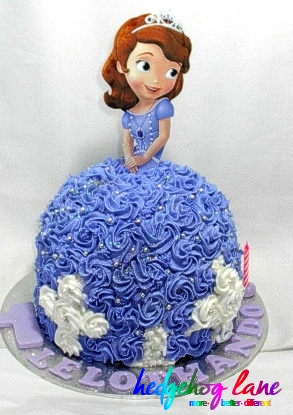 Sofia The First Doll Cake Topper